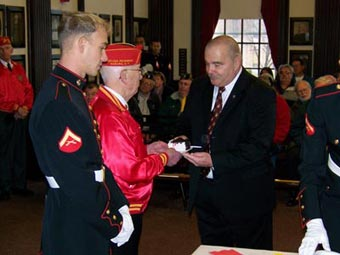 men in military uniforms