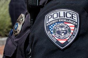Auburn Police arm patch