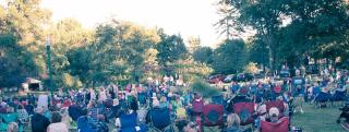 Summer Concert At Hoopes Park