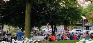Concert at Market Street Park