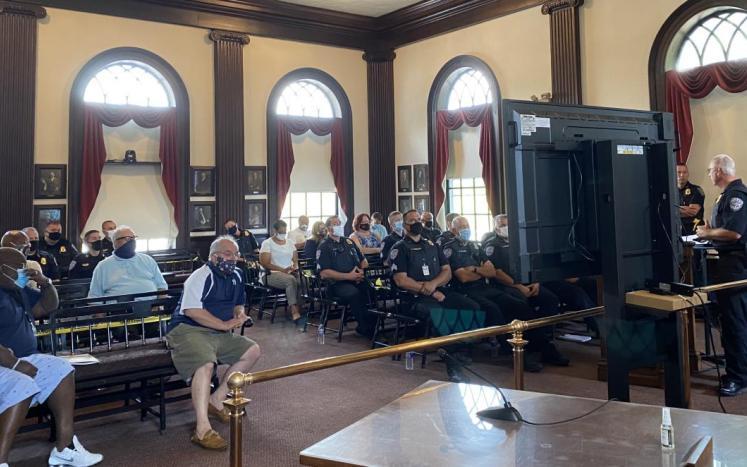 Auburn Police Department Community Forum Held Summer of 2020
