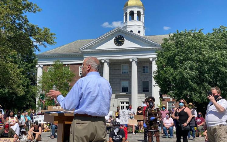 Mayor Quill Speaks at Social Justice Rally June 6, 2020