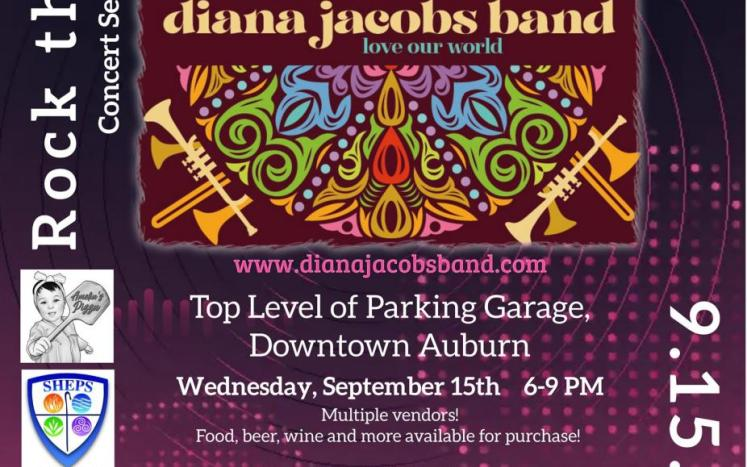 Diana Jacobs Band Poster
