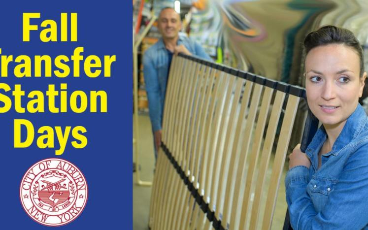 Transfer Station Fall Clean-up Days
